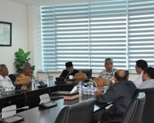 Penyerahan LHP Kepada Pemerintah Kabupaten Buton